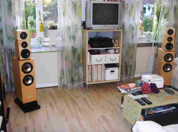Picture of loudspeaker Sonics Allegra with super tweeter