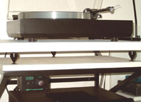 Picture of wall-board for turntable Linn Sondek LP12